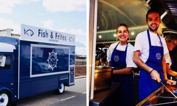 Fish and Frites has been named one of the top three fish and chip vans in the UK.