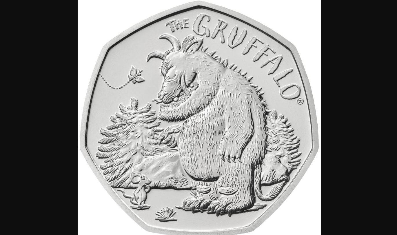 The Gruffalo coin.
