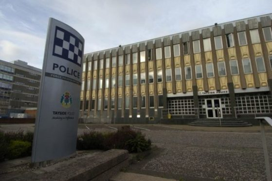 Tayside Police Division's headquarters in West Bell Street, Dundee.