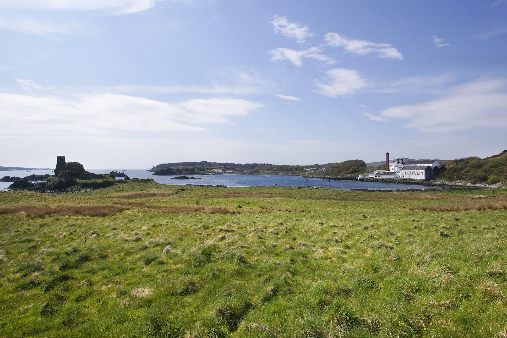 Lagavulin, Port Ellen, Islay, one of three distilleries on the island.