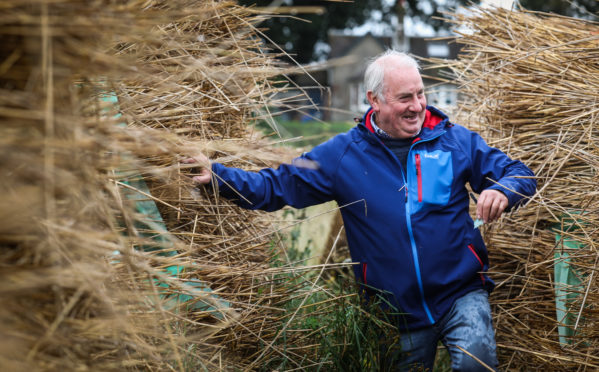 Graham Craig, the last of the reed cutters.