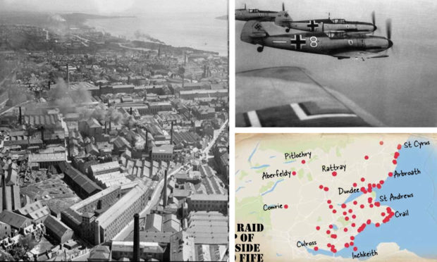 Courier country was hit by a series of deadly air attacks carried out by the Luftwaffe.
