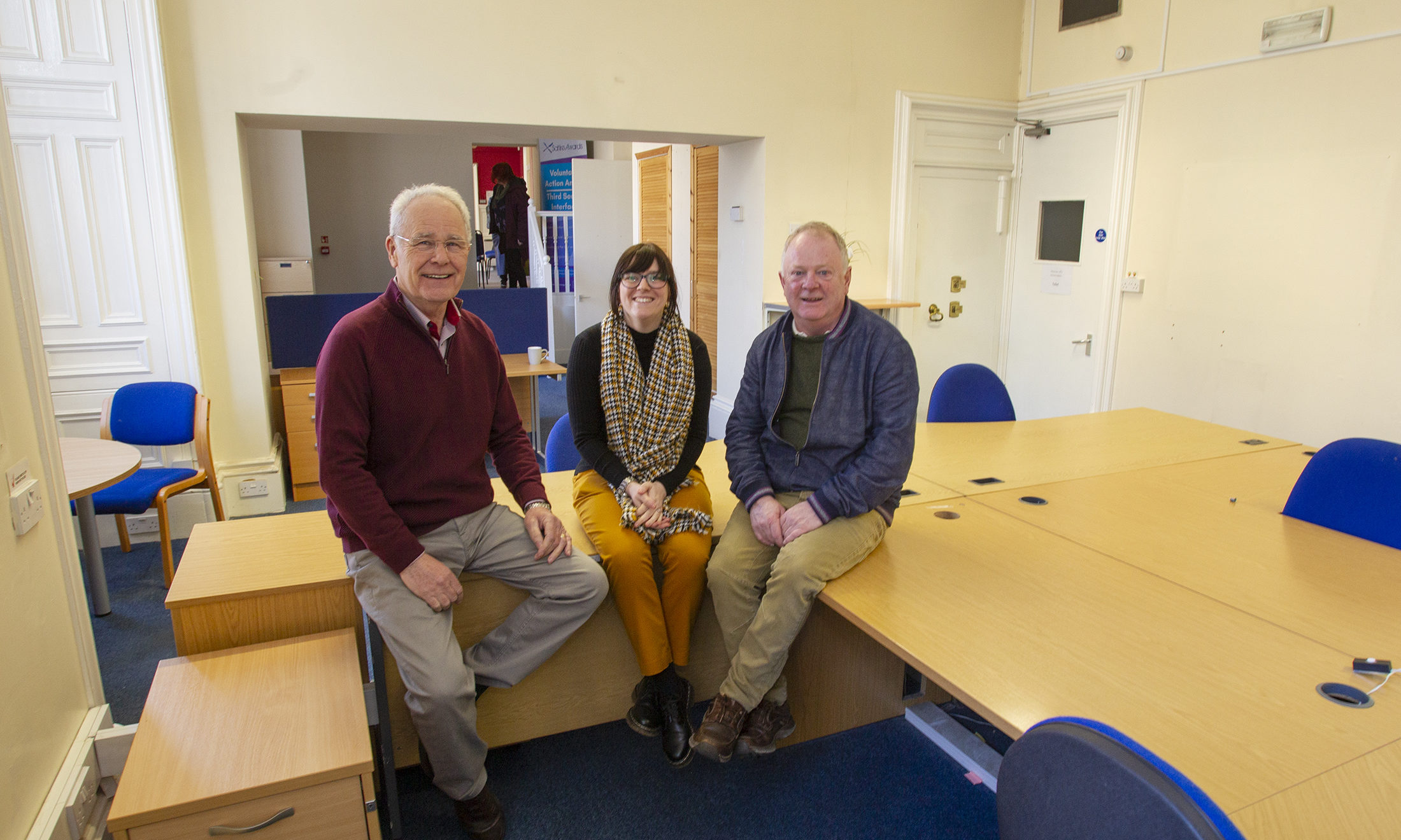 Voluntary Action Angus stage first event in new premises at 5-7 The Cross,  Pic Paul Reid
