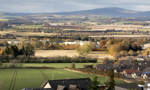 Westfield on the western edge of Forfar.