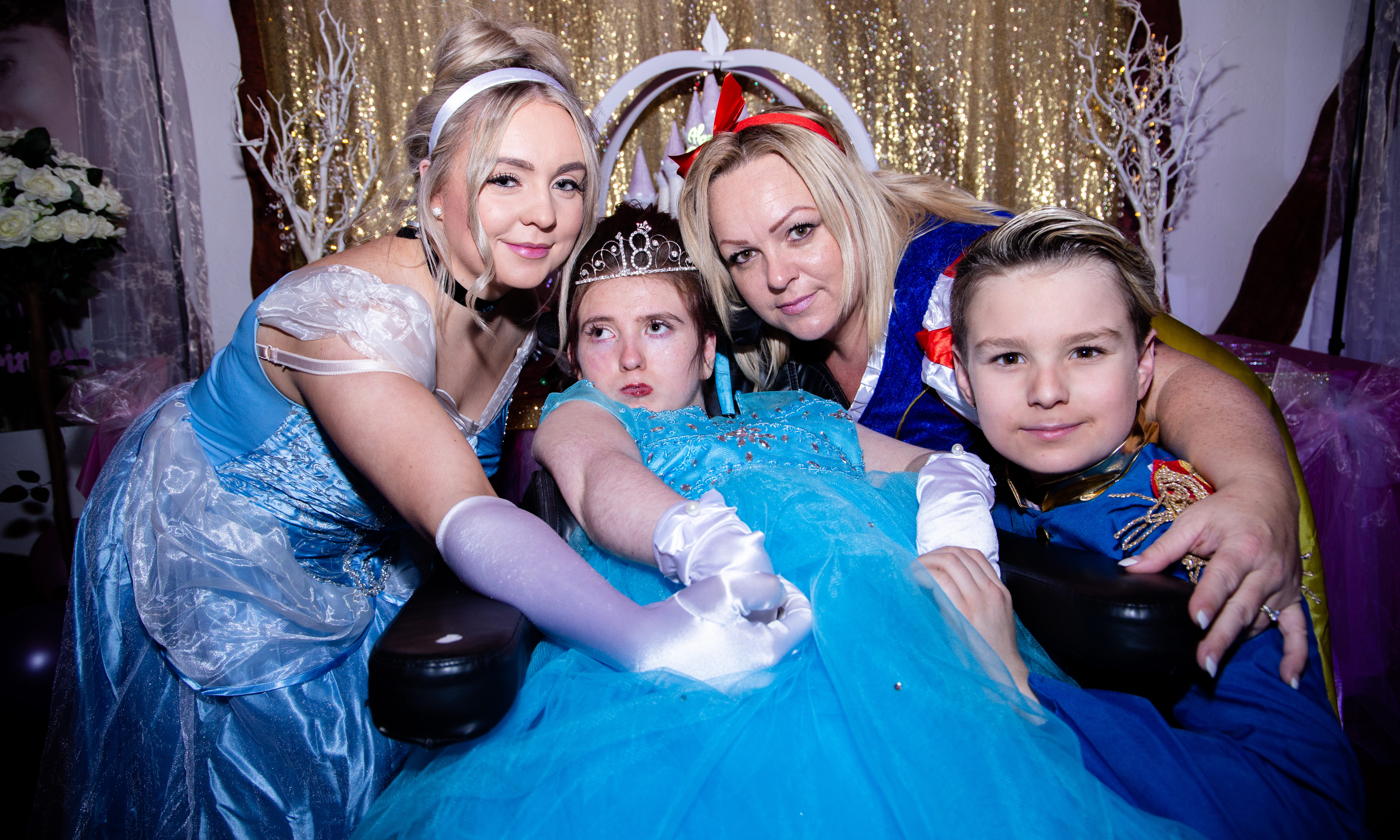 Morgan Doyle with Mum Michelle Dunnill at the party. Pic by Jarek Szaranek Photography