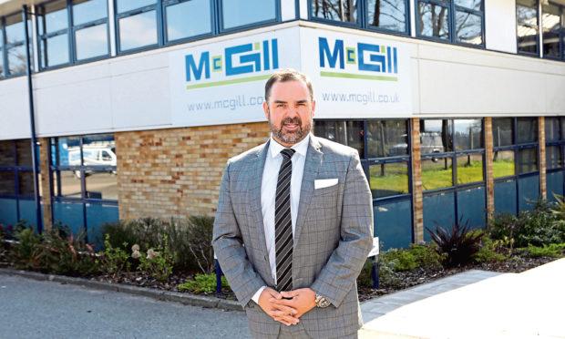 Graeme Carling, chief executive of McGill.