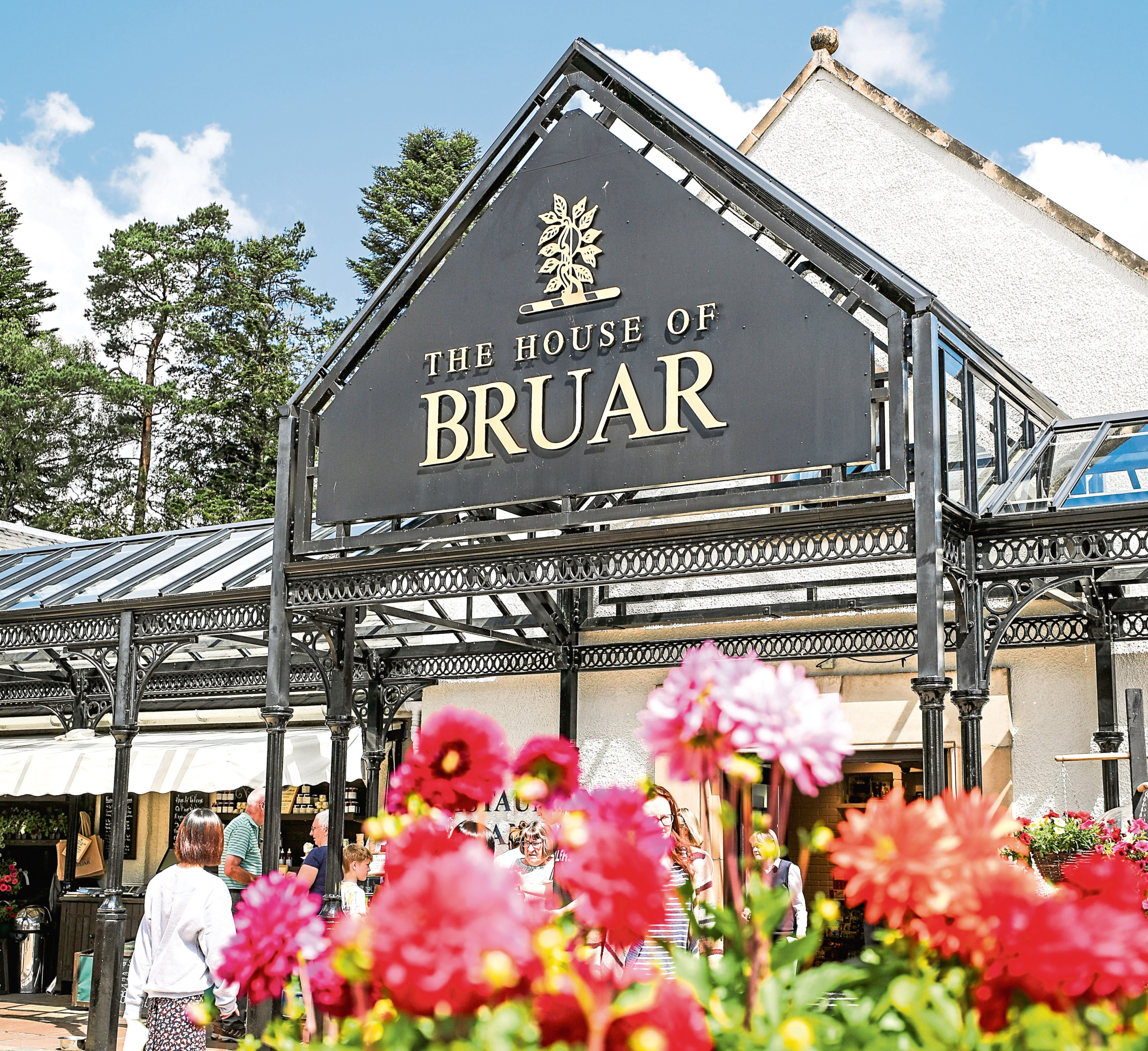 The House of Bruar in Perthshire. Picture: Kris Miller.