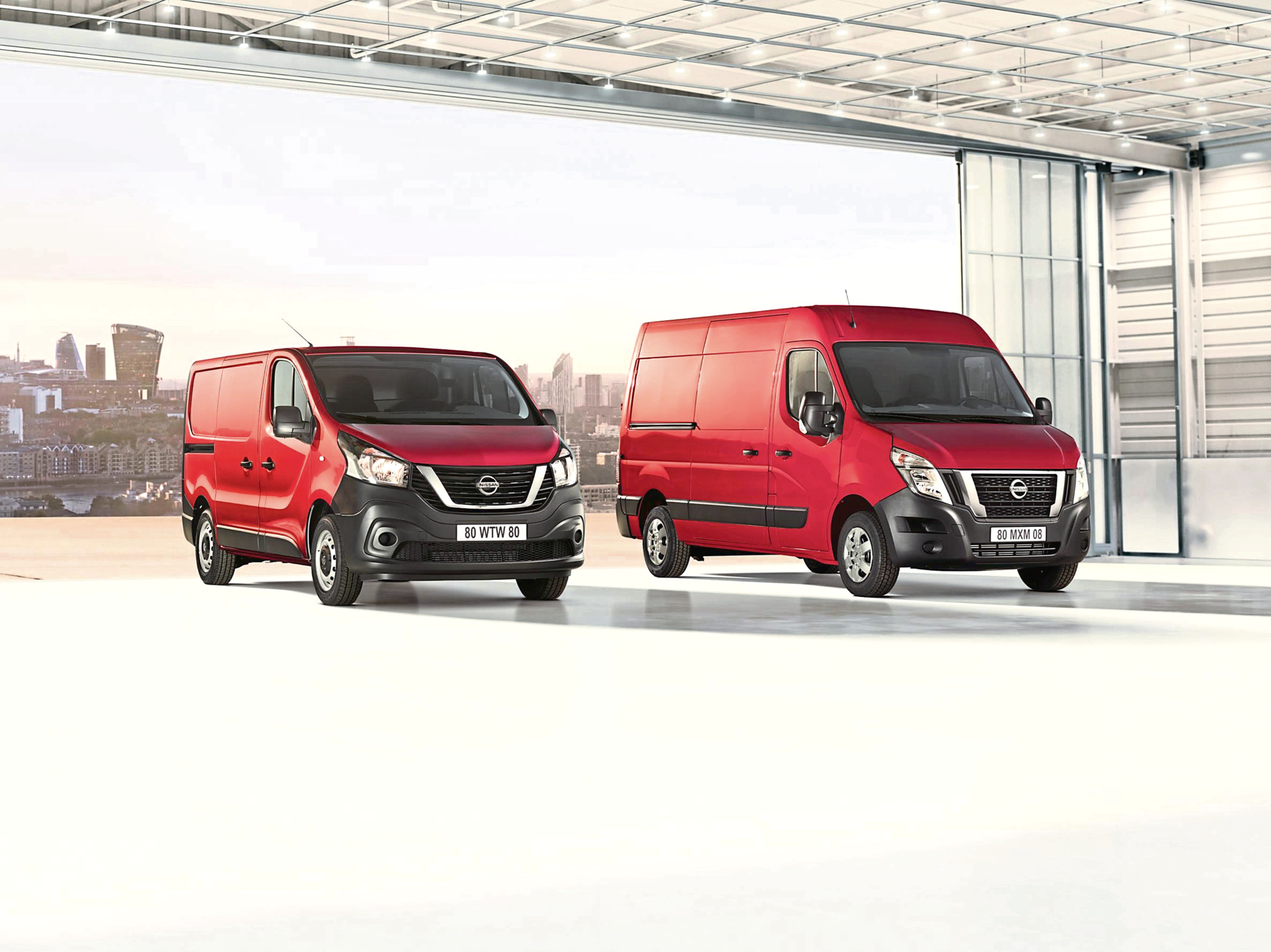 Undated Handout Photo of new upgraded NV300 and NV400 Nissan vans. See PA Feature MOTORING News. Picture credit should read: Nissan/PA. WARNING: This picture must only be used to accompany PA Feature MOTORING News.