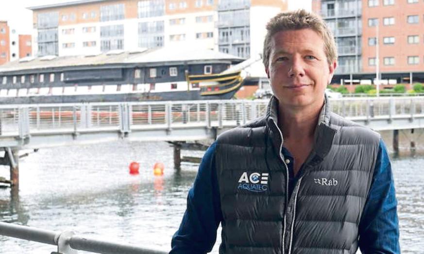 Ace Aquatec managing director Nathan Pyne-Carter