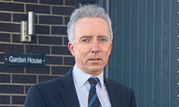 Martin Bruce, managing director of Scotia Homes