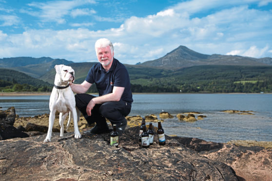 Arran Brewery managing director Gerald Michaluk