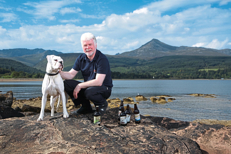 Arran Brewery managing director Gerald Michaluk