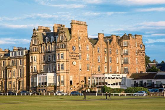 Rusacks Hotel in St Andrews.