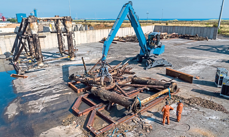John Lawrie project for Maersk Decom. Picture: Maersk Decom