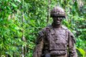 45 Commando Royal Marines  have been involved in jungle training in Belize.
