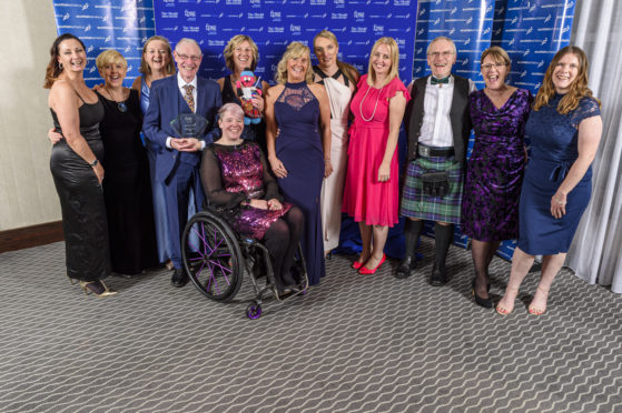 The Anster Allsorts pictured alongside some of the other winners.