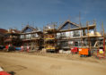 Affordable housing being built in Cowdenbeath.