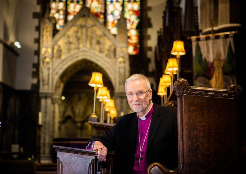 Bishop of St Andrews, Dunkeld and Dunblane Ian Paton