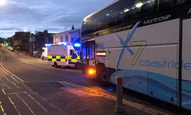 The woman was hit on the corner of Jeanfield Road.