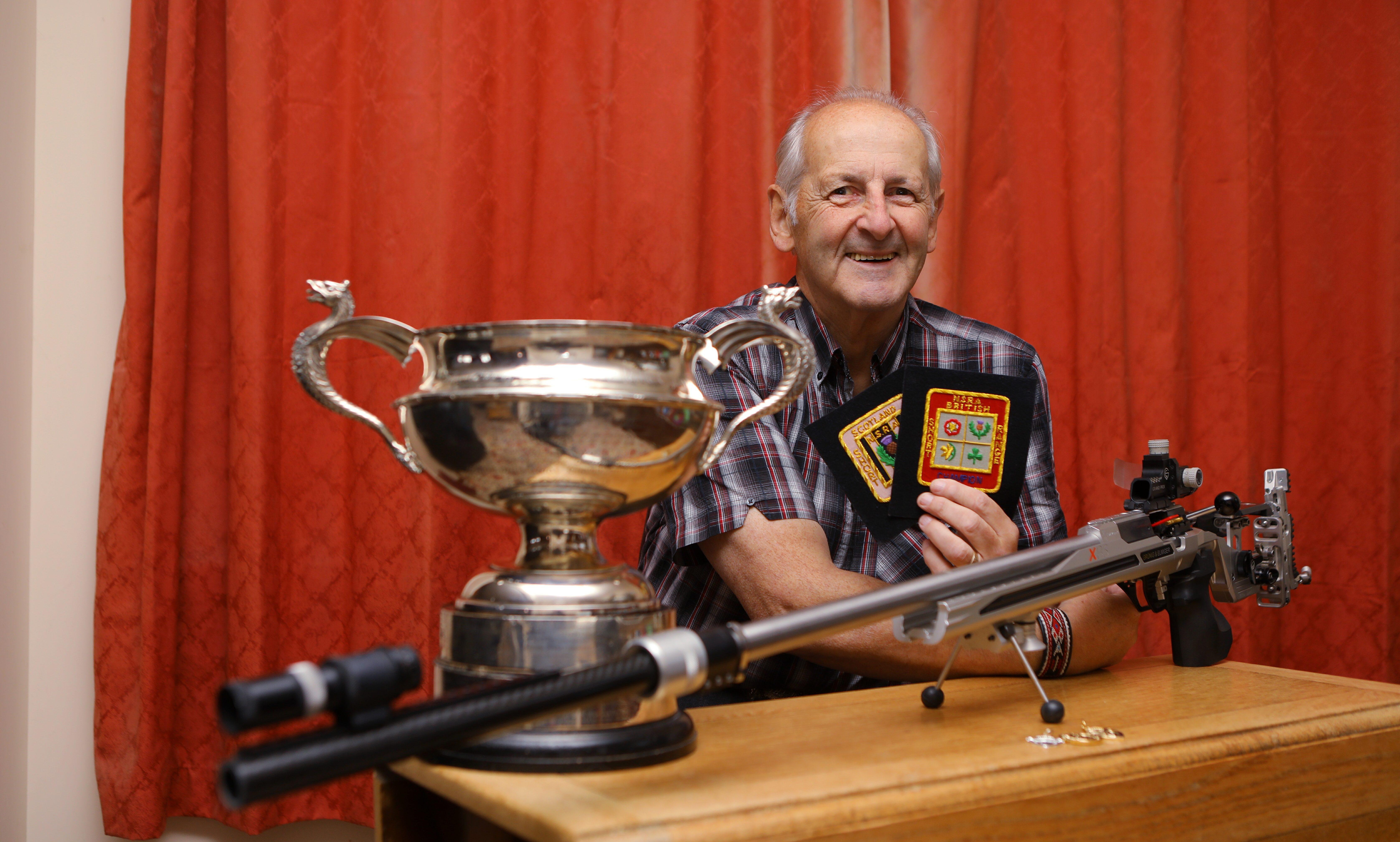 Ken Greenaway won all three championship titles.
