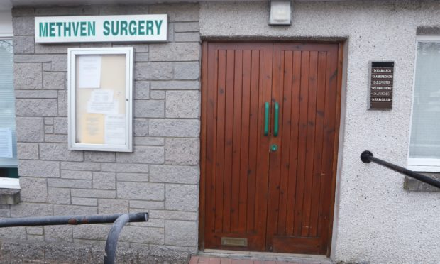 Residents have reported that Methevn surgery has been repeatedly closed on weekdays.