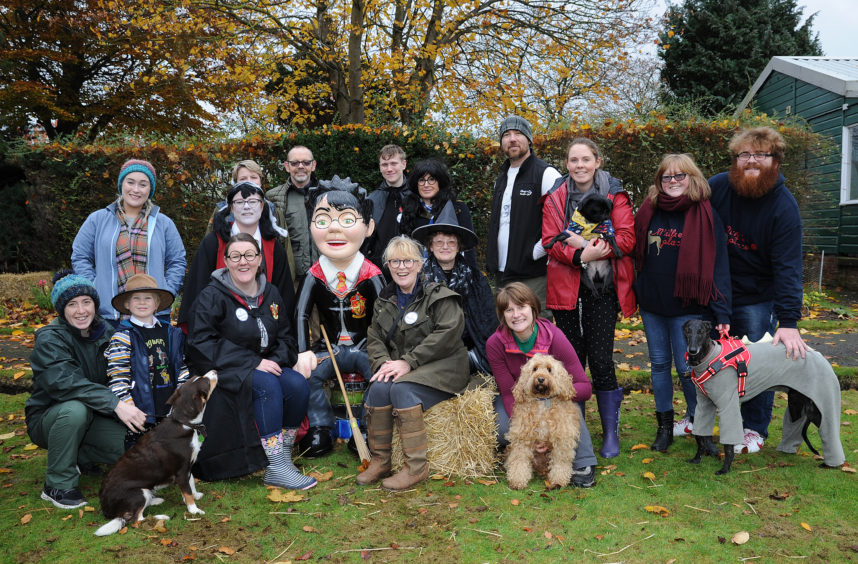 Dog owners enjoy Dogwarts in Montrose (credit: Downfield Studio Photography).