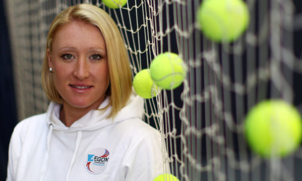 (FILE PHOTO) ROEHAMPTON, ENGLAND - NOVEMBER 29: (EDITORS NOTE: IMAGE HAS BEEN DIGITALLY RETOUCHED) Elena Baltacha of Great Britain poses for the camera at the National Tennis Centre on November 29, 2010 in Roehampton, England. (Photo by Julian Finney/Getty Images for AEGON)