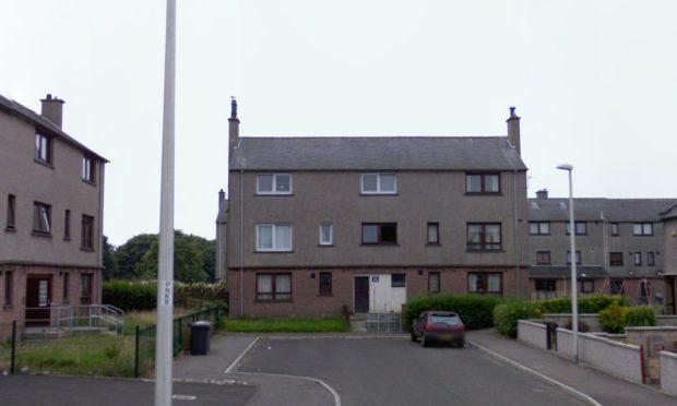 Emislaw Drive, Arbroath (stock image).