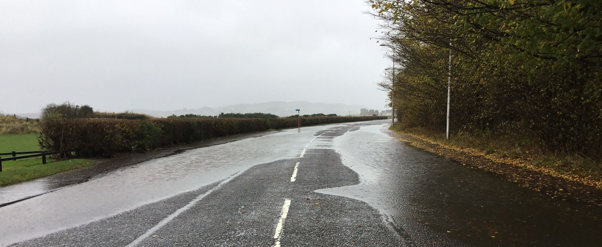 The Esplanade has had repeated issues with flooding.