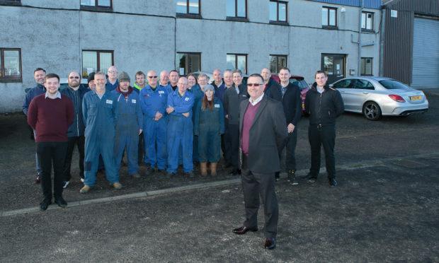 Foodmek MD Scot Kelly and staff.
