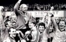 Jim McLean on the day of his greatest triumph.