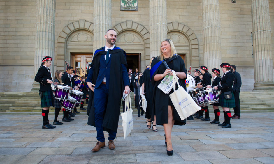 The graduation ceremonies will continue on Friday 15 November.