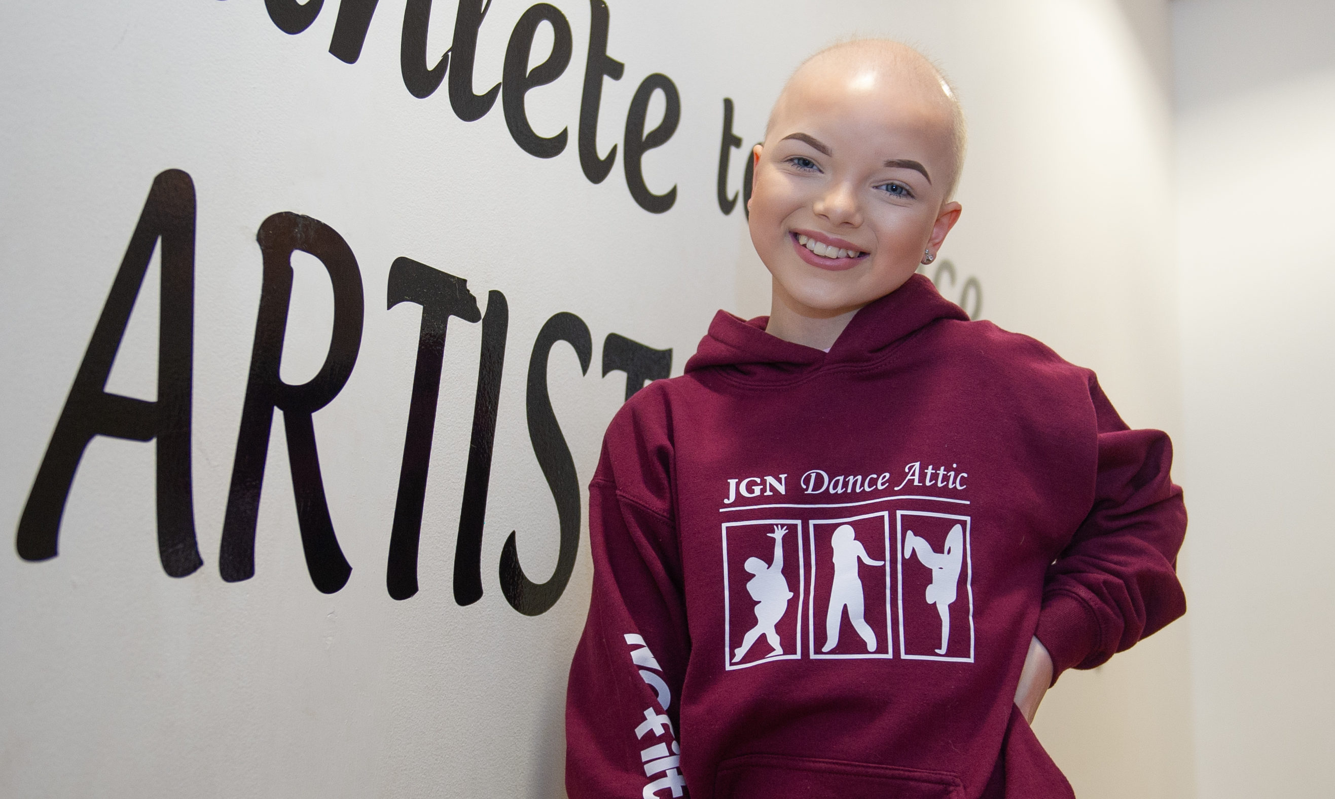 Dancer Lily Douglas has been selected to switch on Perth's Christmas Lights.