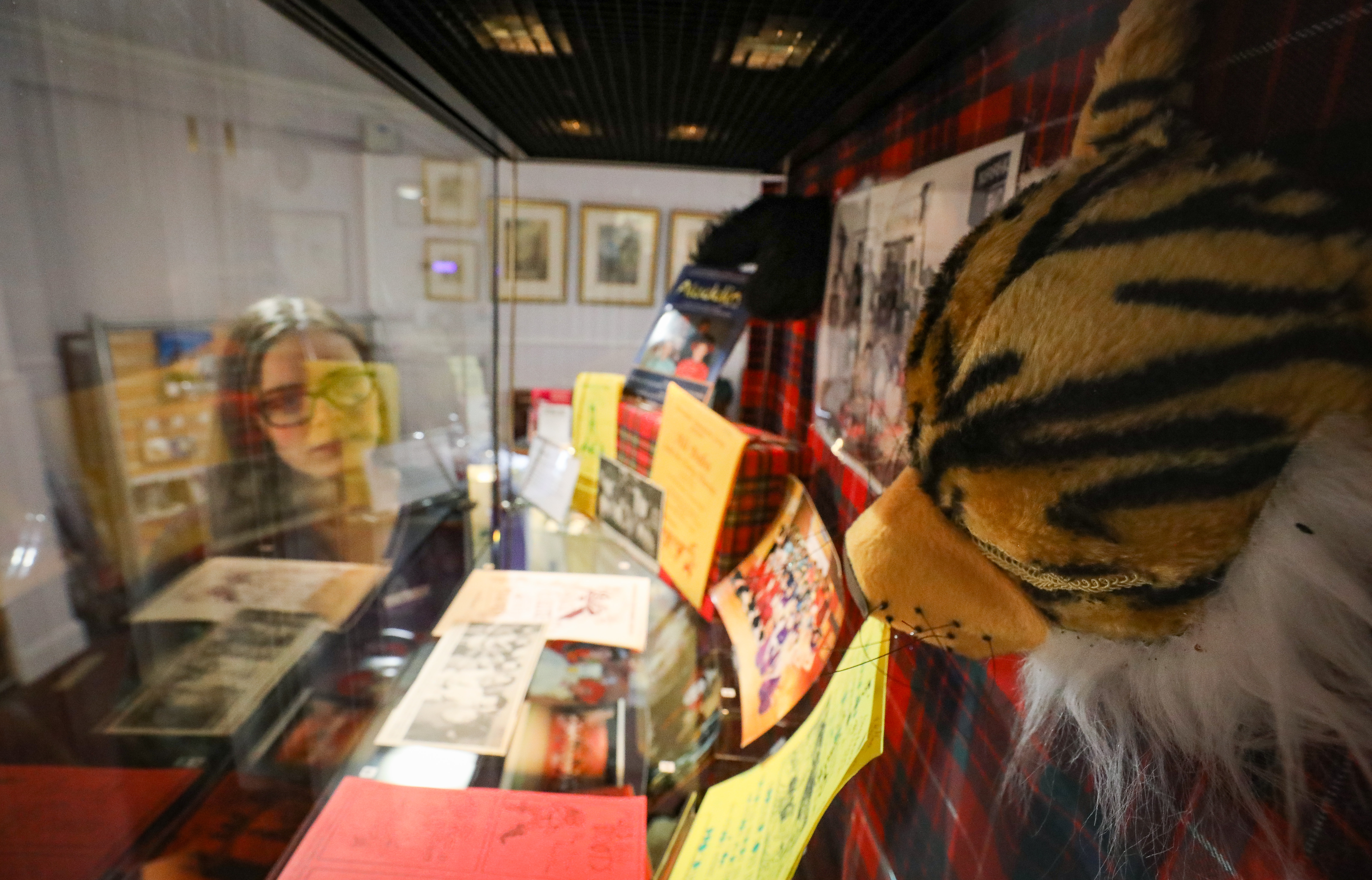 A colourful exhibition charting the history of pantomime has opened at Kirriemuir's Gateway to the Glens museum.