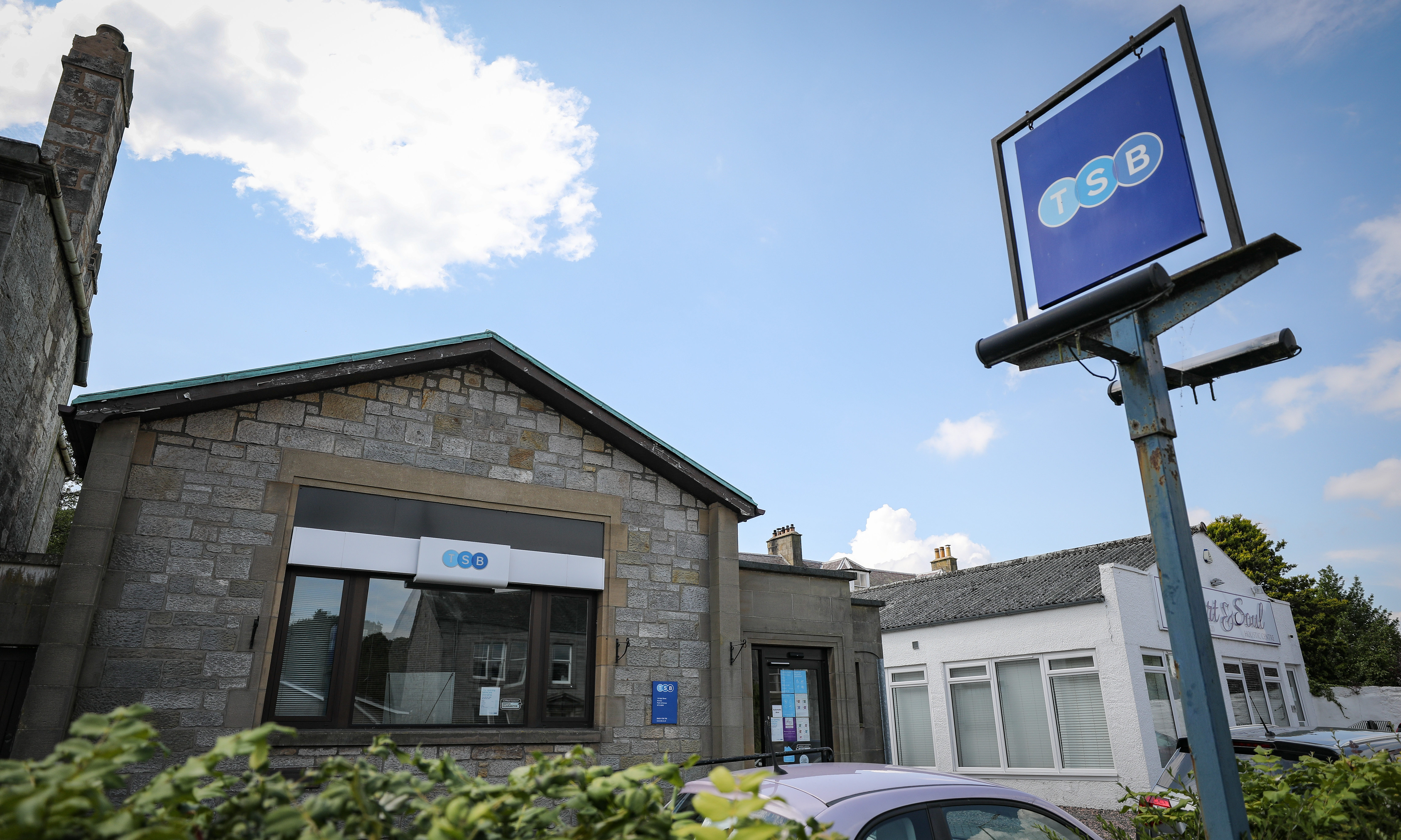 TSB branch in Kinross