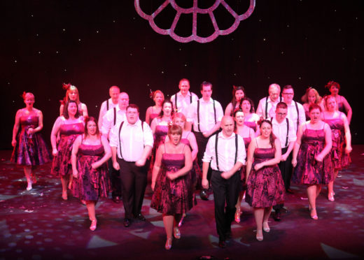 The Angus Minstrels marked the end of an era at the Webster Theatre.