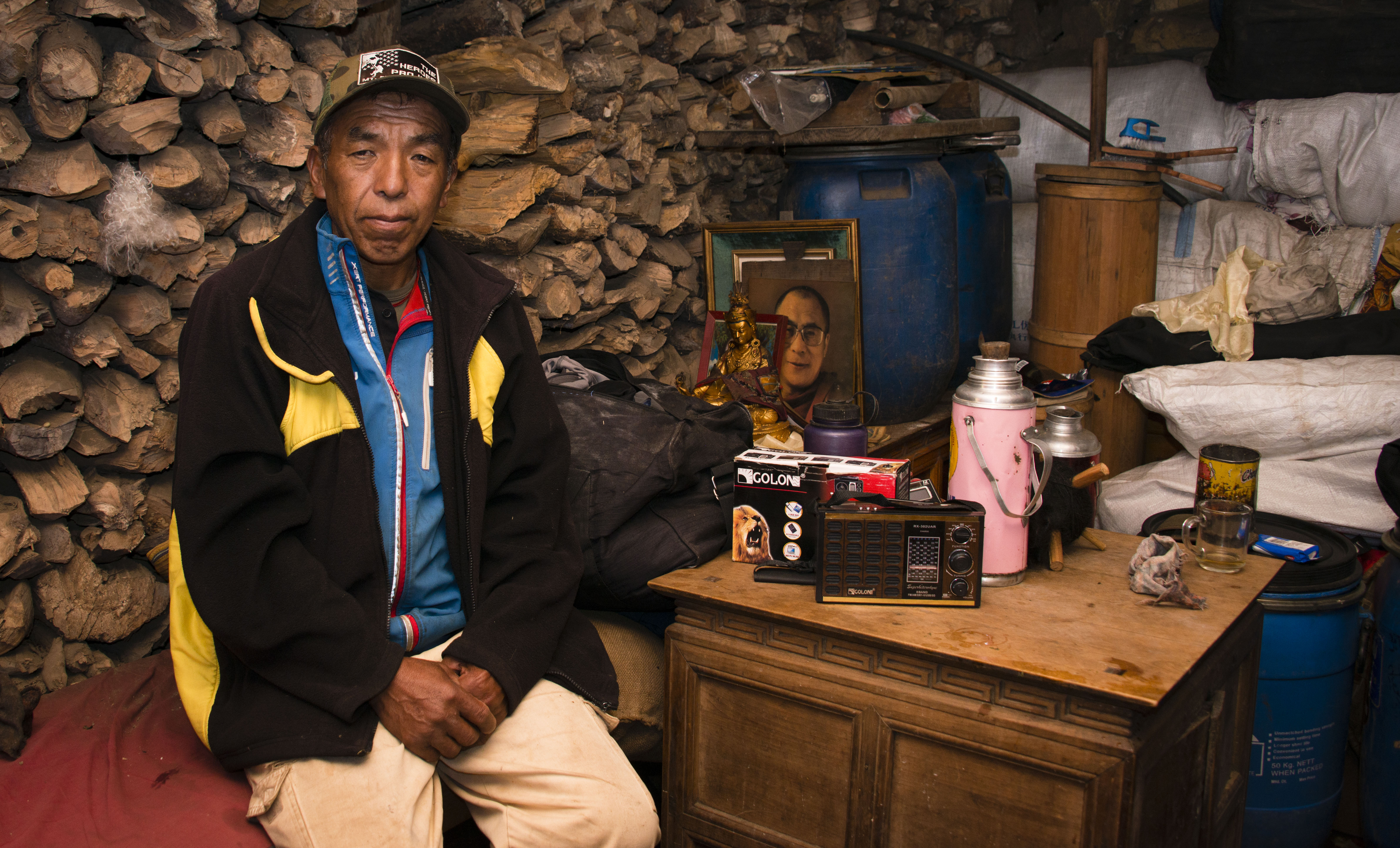 Sherpa Ang Tshering has summited Everest three times.