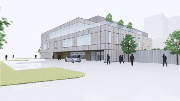 How the new orthopaedic centre might look.