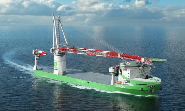 DEME construction vessel uses  Wärtsilä machinery.