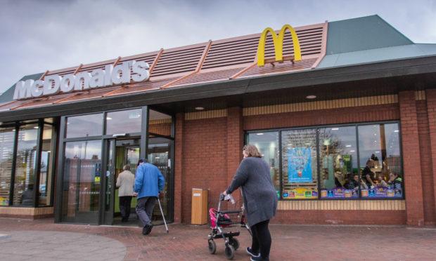 McDonald's, Dunkeld Road, Perth.