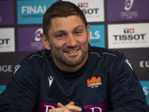 Edinburgh assistant coach Steve Lawrie.