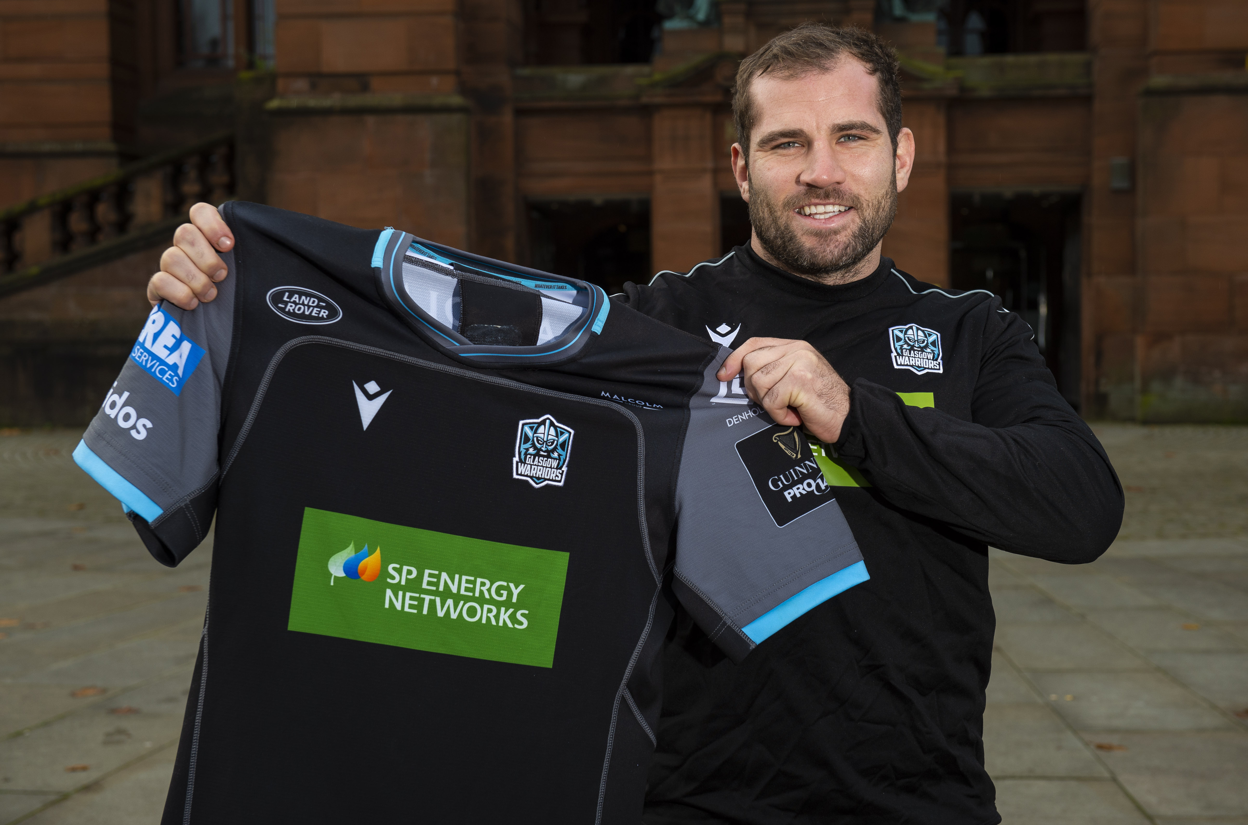 Glasgow Warriors co-captain Fraser Brown.