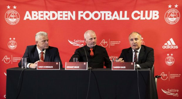 All change at Aberdeen.