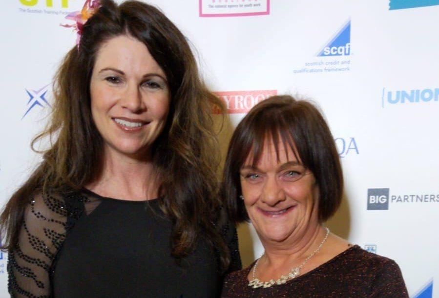 Beth Morgan and Alison Tosh of DIWC