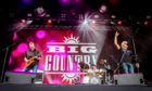 Big Country gave a stomping Sunday performance at Rewind this year.