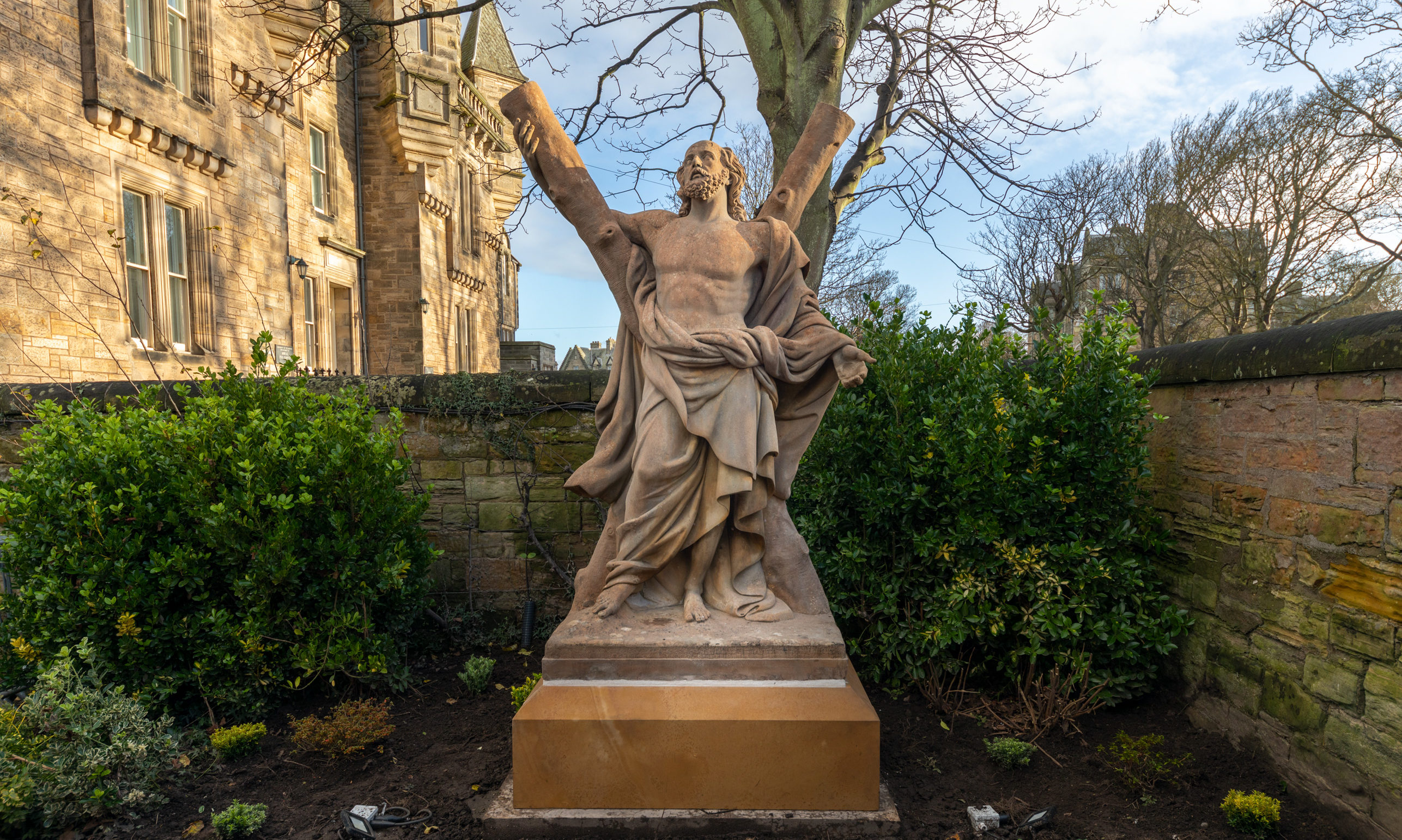 The statue by Sir John Steell,