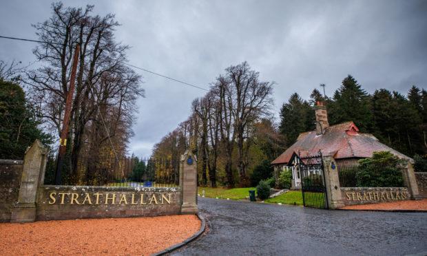 Strathallan School, near Forgandenny