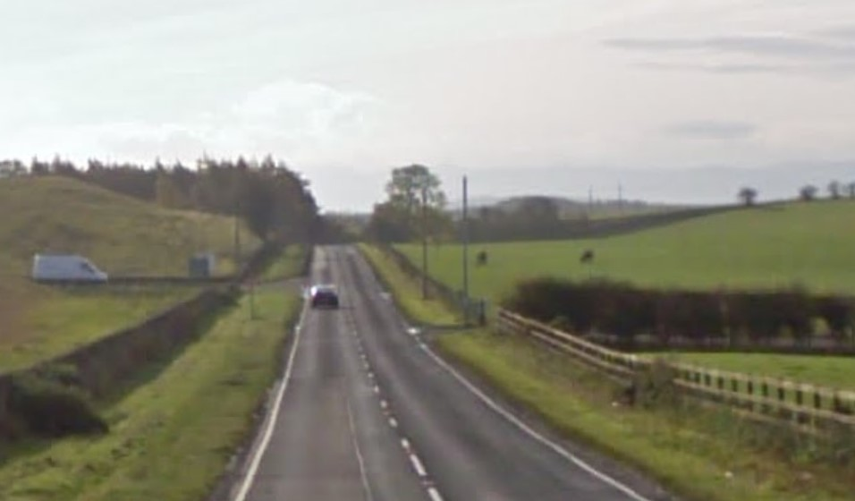The B981 Crossgates to Inverkeithing road.