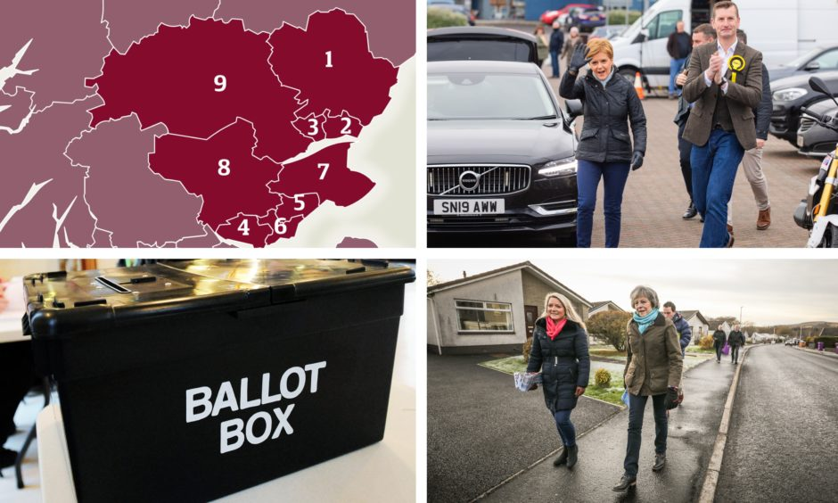 Local candidates have been hitting the streets ahead of the December general election.