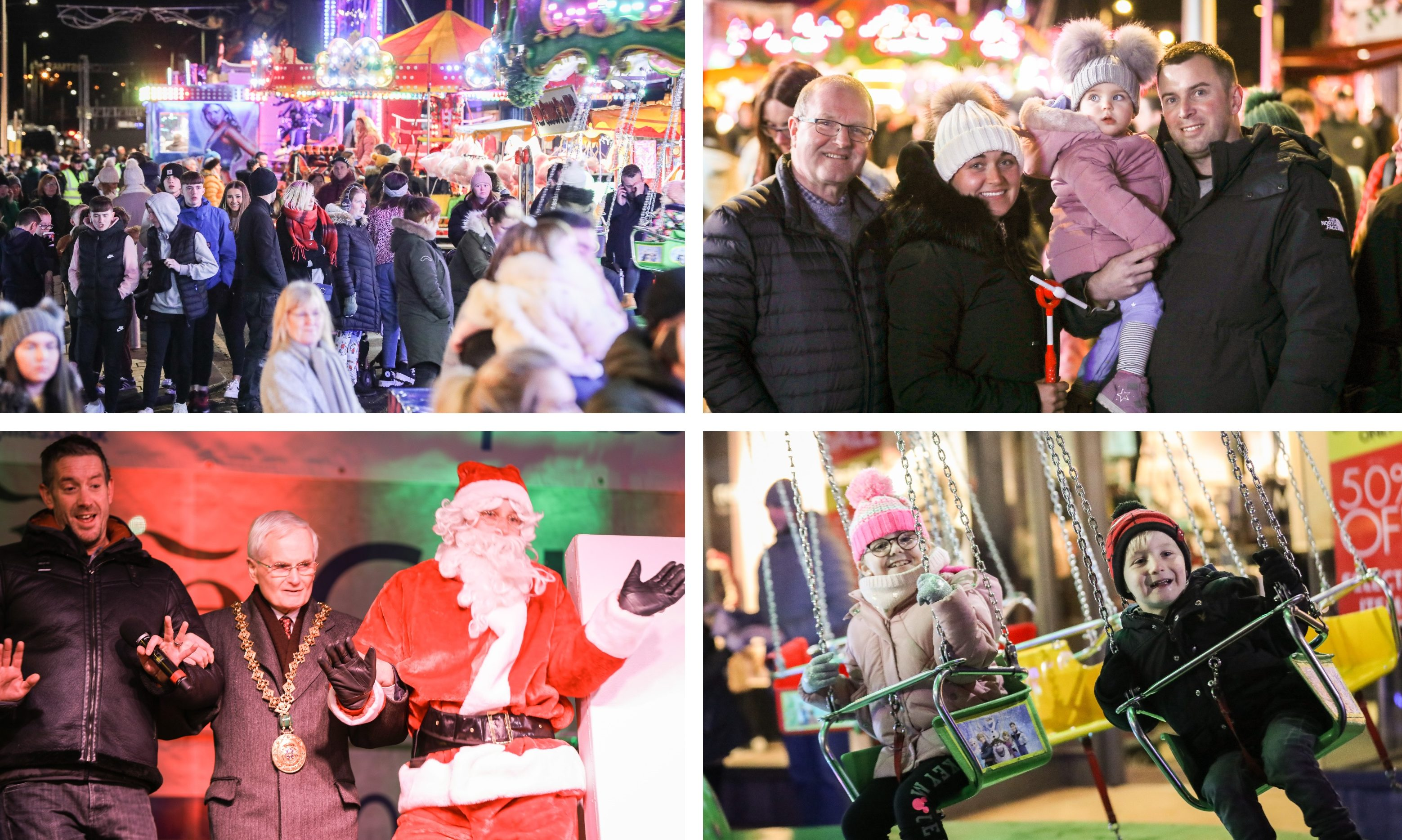 The 2019 Broughty Ferry Christmas lights switch-on.
